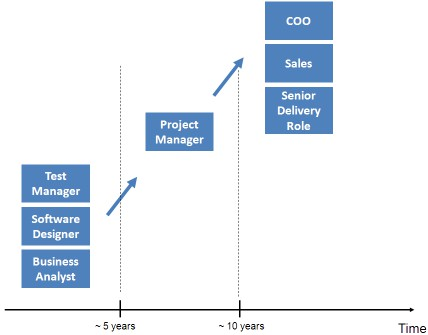 How to develop a project manager's career path?